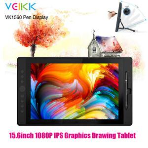 15.6in HD Graphics Tablet Wireless Drawing Digital Screen Art Electronic Pad Pen