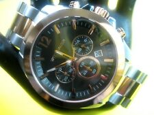 WITTNAUER WN3023 CASUAL MEN'S WATCH CHRONOGRAPH S/S & ROSE G/P /ANALOG/MODERN