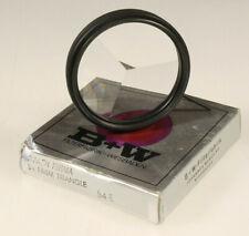 PRL) B+W 3-FACH PRISMA 3x PRISM TRIANGLE FILTRO FILTER FILTRE 54E CAMERA PHOTO