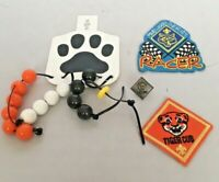 Vintage Tiger Cubs Patch Pin Badge Rank Pinewood Derby Beads Scout Lot BSA