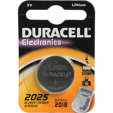 10x Duracell CR2025 3V litio moneta cella BATTERIA 2025