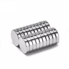 Neodym Magnets 8 x 2 mm Super High Holding Strength Disc N35 25 Pieces