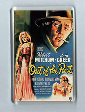 Retro Film Magnet OUT OF THE PAST Robert Mitchum Jane Greer