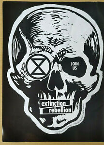 EXTINCTION REBELLION - Full Page Magazine Advert Picture / Poster 2019 - XR