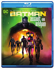 Batman Assault on Arkham with Suicide Squad & Slipcover DC Universe Blu-ray