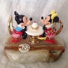 Disney Ron Lee 1998 Mickey & Minnie ROMANTIC DATE NITE Figurine Onyx Base