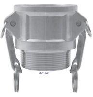 "2-1/2"" Type B Camlock Female Coupler x Male NPT Aluminum Hose Fitting <B250IAL"