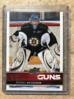 12-13 UD Upper Deck Series 1 #206 Young Guns YG MICHAEL HUTCHINSON
