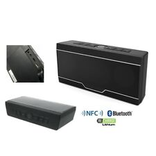ENCEINTE MINI HAUT PARLEUR BLUETOOTH 2 X 10W MAX NFC TELEPHONE MP3 SLOT CARTE SD