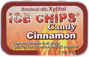 Ice Chips Candy by ICE CHIPS CANDY, 1.76 oz Cinnamon 1 pack