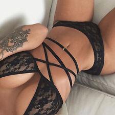 Women's Sexy-Lingerie Nightwear Underwear Babydoll Sleepwear Lace G-string Dress