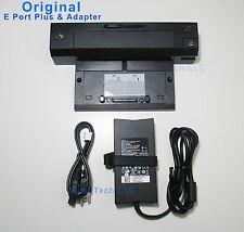 Lot of 5 docking E port Plus with adapter Latitude E6400 E6410 E6420 E6500 E6520