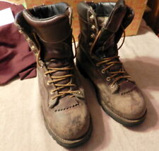 DANNER GTX Quarry GORE TEX Thinsulate LEATHER WORK BOOTS 10.5 EE Steel Toe Used