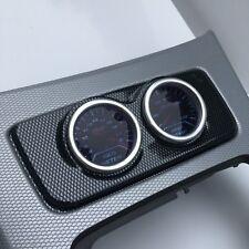 BMW E90 E92 E93 Centre Console Gauge Holder 2 Hole 52mm - Carbon fiber effect