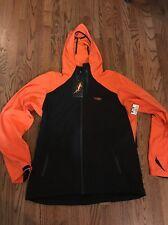 Old Harbor Outfitters OHO Softshell Orange Black Jacket Fishing XXL $179 Retail