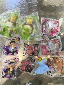Shrek The Third 2007 McDonalds Happy Meal Toys Set of 10 NIP