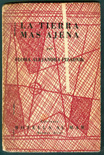 FLORA ALEJANDRA PIZARNIK  BOOK LA TIERRA MAS LEJANA 1° EDITION COVER LUIS SEOANE
