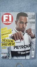 F1 Racing Magazine for the Month of March 2014. Excellent Condition