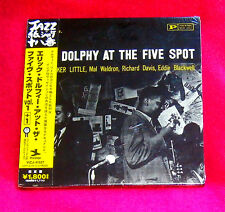 ERIC DOLPHY AT THE FIVE SPOT JAPAN MINI LP CD VICJ-41527 NEW