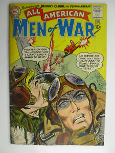 All American Men of War #3, 2nd Johnny Cloud Navajo Ace, VG+, 4.5 (C), OWW Pages