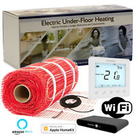 Electric underfloor heating mat kit 150w/m² trade prices next working delivery.