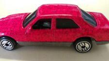 1981 Hot Wheels Metallic Pink Mercedes 380 SEL Car - Malaysia Mint condition