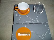 ROSENTHAL. GERMANY. THOMAS. SUNNY DAY.  EXPRESSO SET CUP/GLASS.