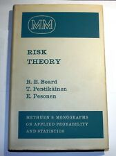 Risk Theory Monographs on Statistics and Applied Probability Very Good Condition