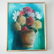 Vintage IMPRESSIONIST OIL PAINTING Known New York Artist - Changha Hwang