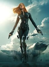 Black Widow - Scarlet Johansson Marvel Comics Wall Art Poster / Canvas Pictures