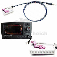 AUX IN Adapter For Audi RNS-E Satnav TV Jack Plug Cable RNS-E MP3 iPhone Radio