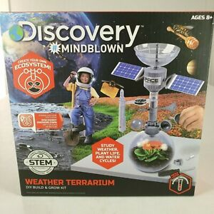 Discover # Mind Blown Weather Terraium DIY Build & Grow Kit New Sealed Ages 8+