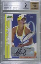 2013 Ace Authentic Grand Slam Lime Green /3 Maria Sharapova #BA-MS1 BGS 9 Auto