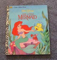 a Little Golden Book Walt Disney's The LITTLE MERMAID (1997, Hardcover)