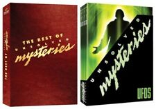 UNSOLVED MYSTERIES ROBERT STACK DOCUMENTARIES DOUBLE COLLECTION NEW 8 DVD