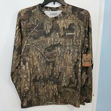 Magellan Outdoors Men's Mesh Eagle Pass Camo Shirt Size Large - Realtree Timber