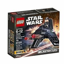 LEGO Star Wars MicroFighter Building Kit Set  Series 4 Brand New Sealed Box 78pc