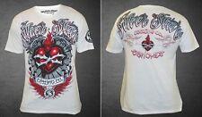 Silver Star UFC 114 Diego Sanchez Walkout T-shirt (White) - Medium Size