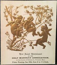 Self Mastery Association Worcester MA 1st Annual Entertainment ~ Gold Cherubs