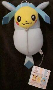 Pokemon Banpresto Pikachu In Glaceon Sleeping Bag Rare