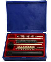 Hunting Gun Cleaning Kit for .38/.357/9mm cal Pistol Handgun Bore Cleaner w/Case