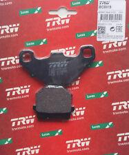 Rex Silverstreet Trophy 25 50-Original TRW-Lucas Plaquette De Frein Brake Pads mcb519