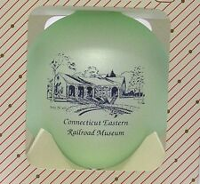 CONNECTICUT EASTERN RAILROAD MUSEUM ORNAMENT 13th IN SERIES VINT 2000 NEW IN BOX