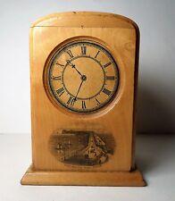 Mauchline Ware Clock Admiralty Pier Dover Money Box Bank