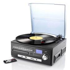 Tocadiscos mhx-550.lp reproductor de música disco digitalizador CD mc mp3 USB