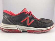 New Balance 813 Women US 6.5 Gray + Pink + White Cross Training Shoes WX813
