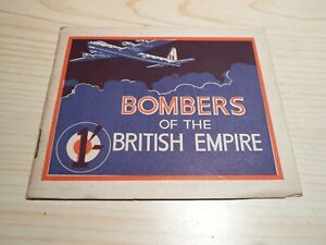 1942 Booklet '' Bombers of the British empire ''. 32 pages - Propaganda book