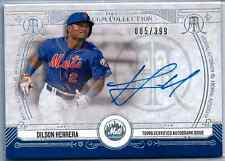 2015 Topps Museum Collection Dilson Herrera Rookie Autograph RC /399 Mets