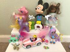 Junk Drawer Toy Lot My Little Pony Shopkins Minnie Mouse Madame Alexander Trolls