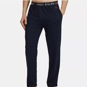 Polo Ralph Lauren Mens Navy Lightweight Cotton Pajama Pants $52